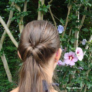 Miriam's Vlecht Lessen (Miriam's braiding instructions): Topsy tail kapsels // Topsy tail hairstyles