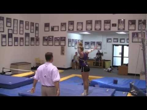 Wow. Just saw Lloimincia Hall do a floor routine on ESPN. Wow.    LSU Gymnastics: Hype 2012.mov