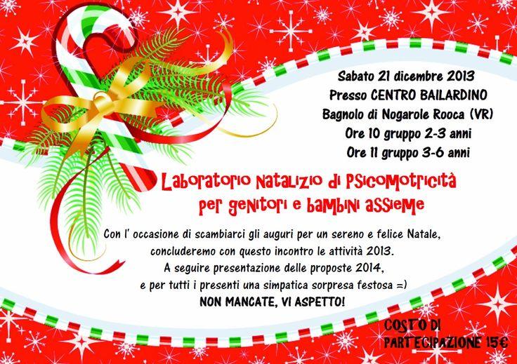 A Natale regalati un' ora di psicomotricità assieme al tuo bambino!!! Marina Pavesi psicomotricista