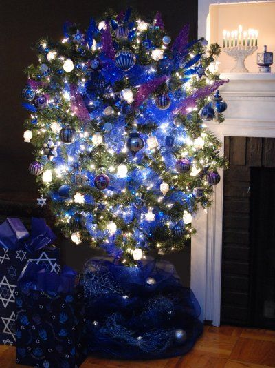 christmas isnt the only holiday that needs decorations here you will find hanukkah bushes ornaments and even lawn decor - Hanukkah Decorations
