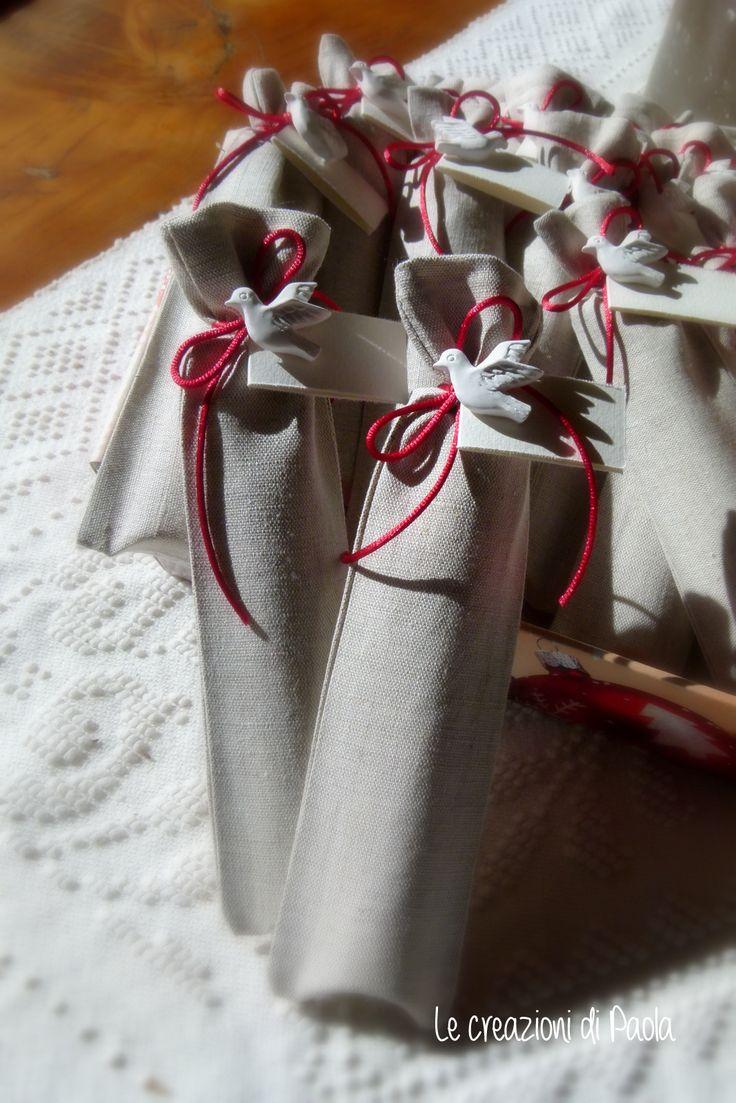 Blister confetti in sacchetto lino