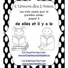 This package has been created to systematically teach sight words to beginner French Immersion students.  It was created for use in our grade 1 cla...