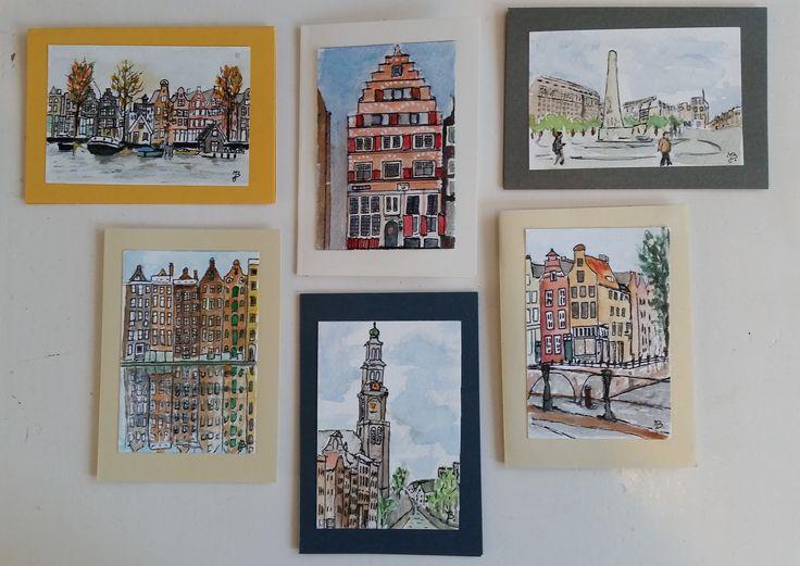 6 nieuwe kaarten Amsterdam
