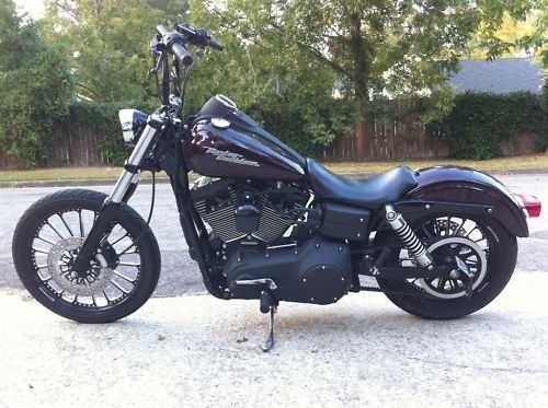 blacked out street bobs | Harley Davidson Dyna Street Bob Blacked Out