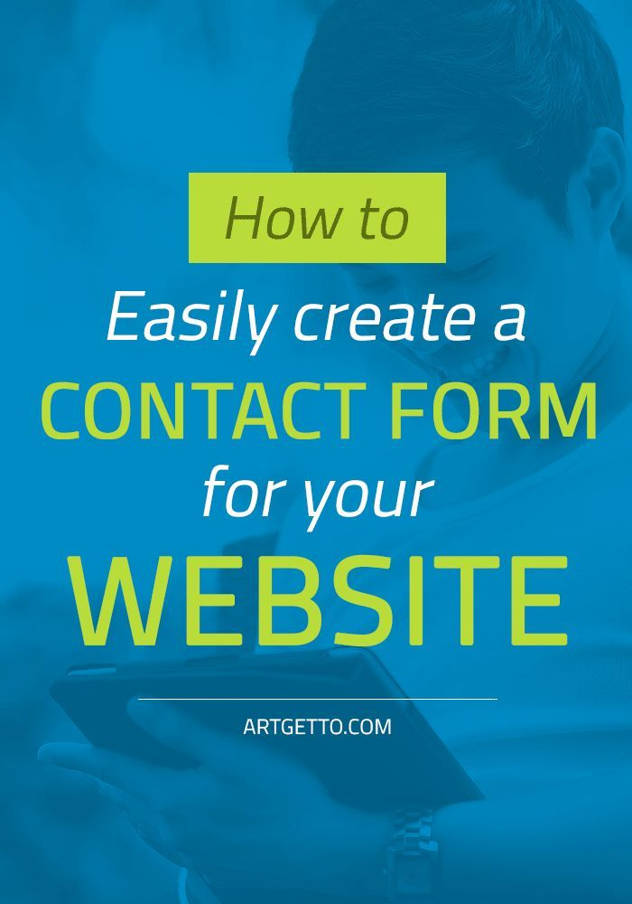 25  best ideas about contact form on pinterest