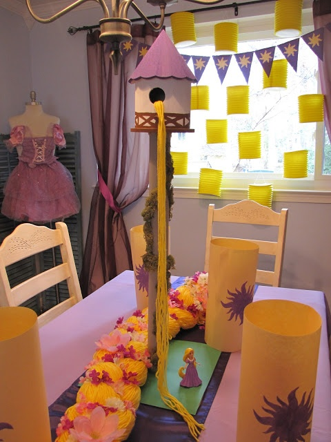 The Old White Cottage: A Tangled 4th Birthday