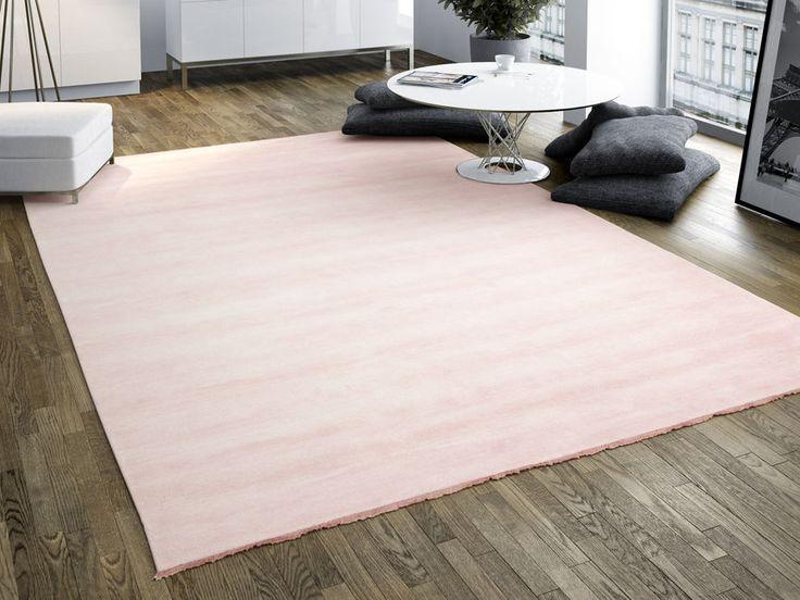 Handloom fringes - Roze tapijt CVD5312