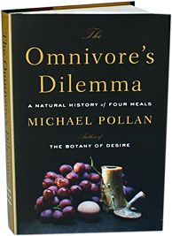 """The Omnivore's Dilemma"" by Michael Pollan (recommended by staff members Ian and Jessica L.)"