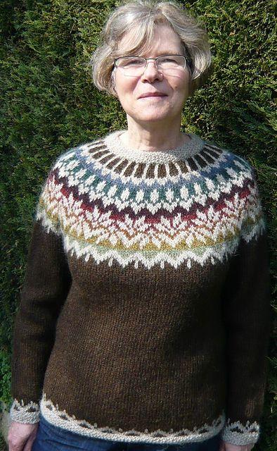 Ravelry: Lily7's Afmæli pullover - free knitting pattern