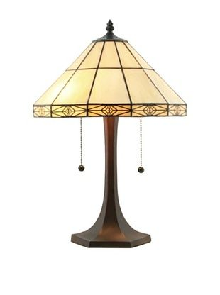 59% OFF Legacy Lighting Simply Mission Table Lamp, Burnished Walnut