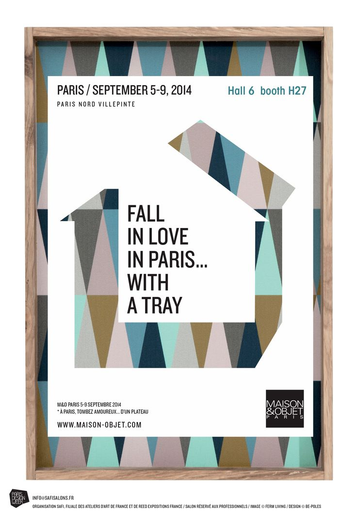 """At the """"Maison et Objet"""" ROWOLD will present their new collection, together with Cellarrich in hall 6 - booth H27. 5 - 9 September, 2014"""