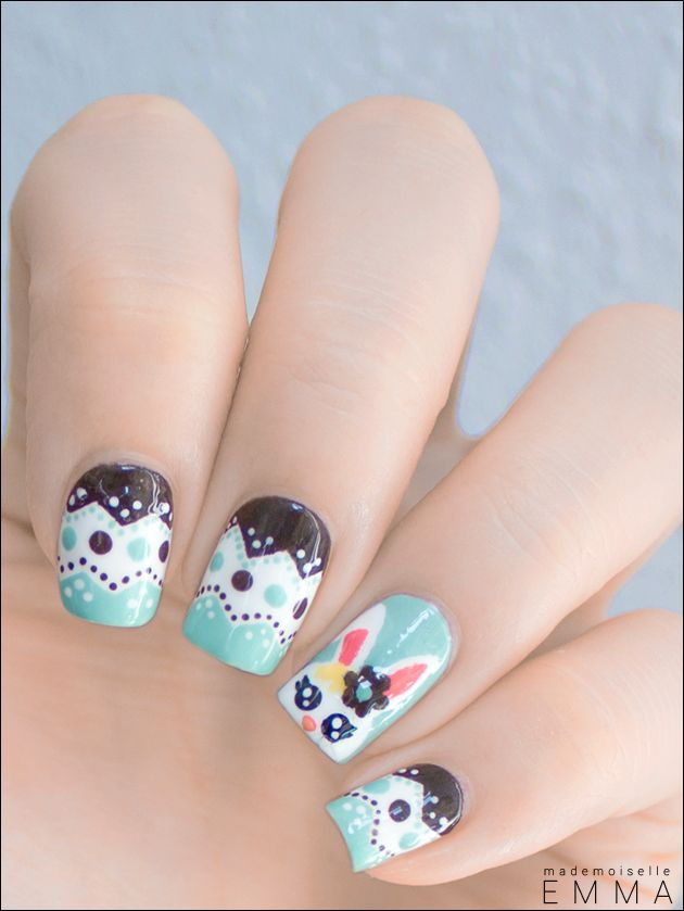 Easter Bunny 419 best Nail Art images