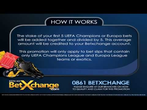 Intensify your UEFA Champions/Europa  League Betting Experience.