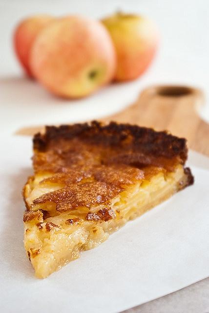 Torta di mele di fattoria