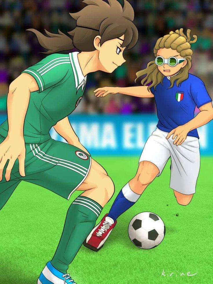 Fudou Akio vs Kidou Yuuto