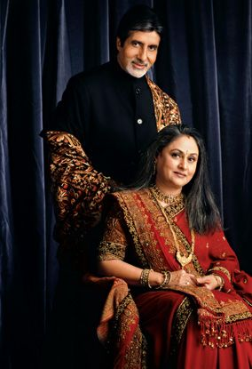 he last time they came together in front of the cameras was when they shot for a day for their make-up man Deepak Sawant's Bhojpuri film 'Ganga Devi' for purely sentimental reasons. The only big film for which they faced the camera was way back in 2001 for Karan Johar's 'Kabhi Khushi Kabhie Gham'. Prior to that, the evergreen pair of Amitabh Bachchan and Jaya Bachchan had got together in 1981, again as husband and wife, in Yash Chopra's 'Silsila'.......http://bgm.me/r/1209090