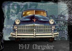 Vintage, Car, Automobile, Chrysler