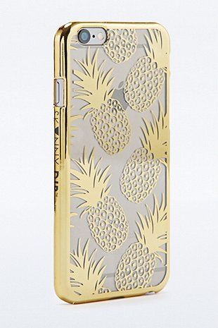 Skinnydip Gold Pineapple iPhone 6 Case