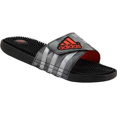 adidas sandals mens orange