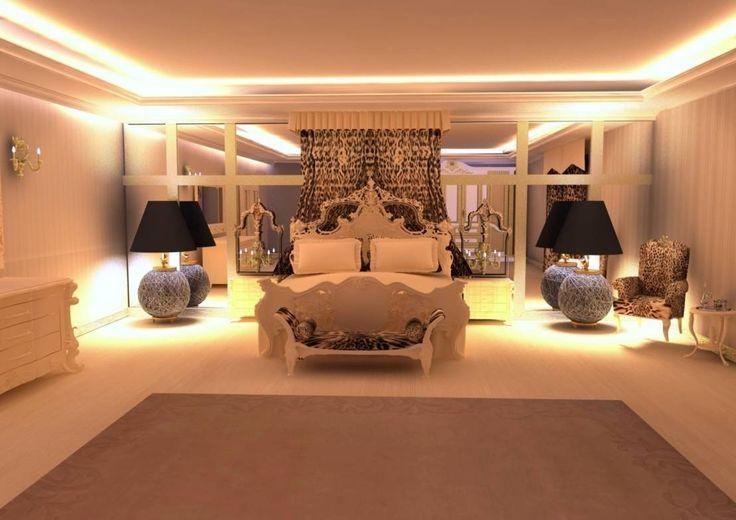 Feng Shui Uygulama : Modern Yatak Odası Meral Akçay