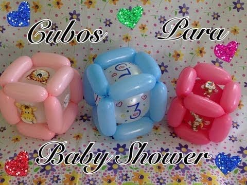 Cube for the baby mobile