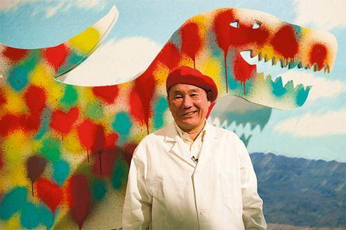 "Takeshi Kitano's art exhibition ""Gosse de Paintre"""