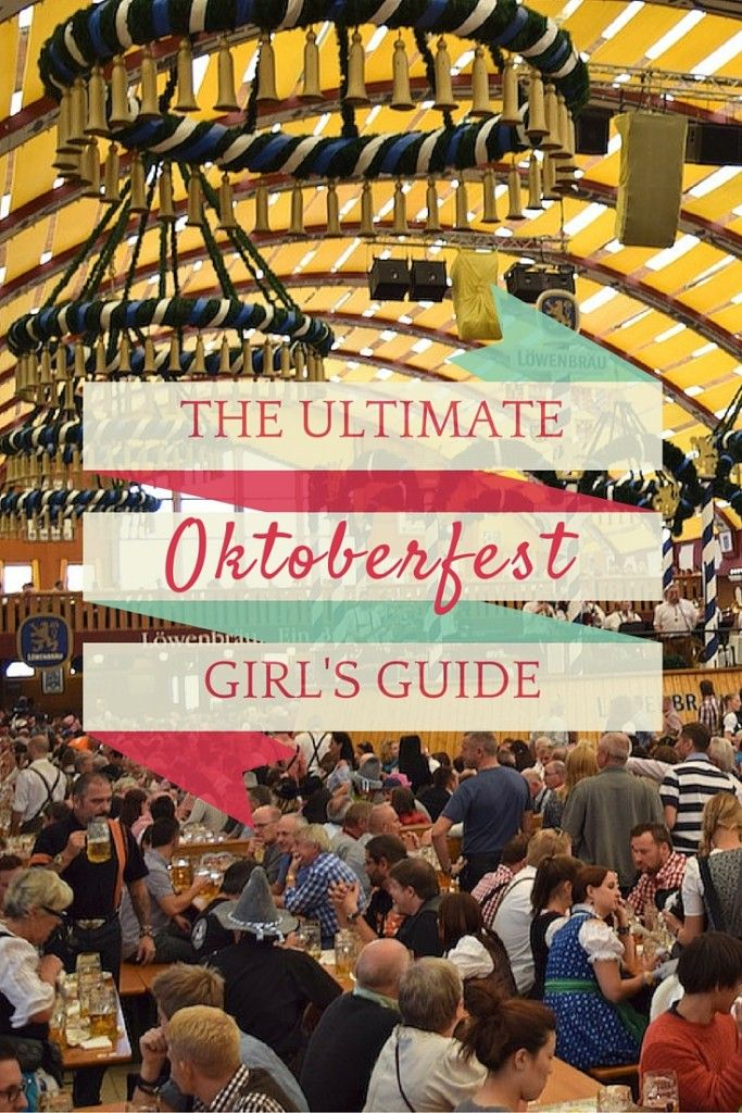 Your complete guide to Oktoberfest in Munich from dirndls, to beer, to those…