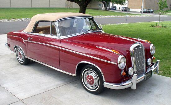 Mercedes-Benz 220SE 1960
