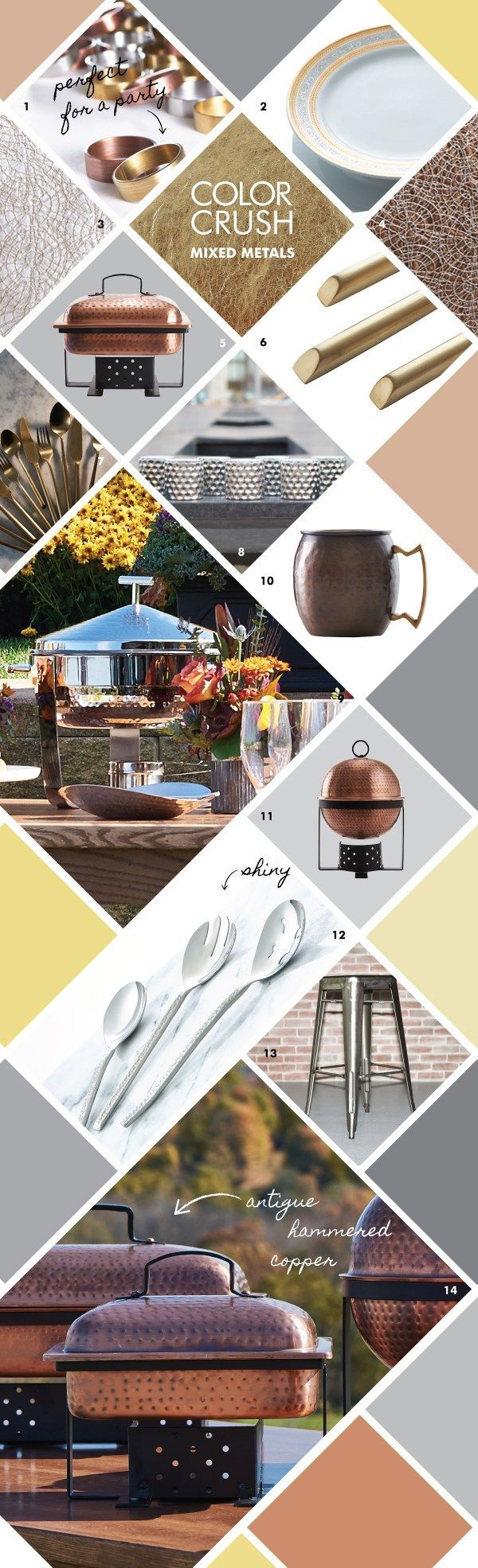 131 best metallic event design images on pinterest | event design