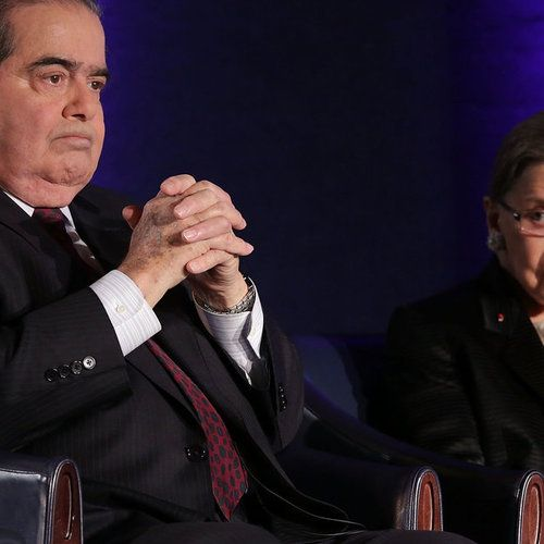 """Toward the end of the opera Scalia/Ginsburg, tenor Scalia and soprano Ginsburg sing a duet: 'We are different, we are one,' different in our interpretation of written texts, one in our reverence for..."