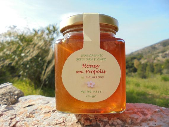 Greek  Honey & Propolis Thyme and Flower Honey by MelirrousBees