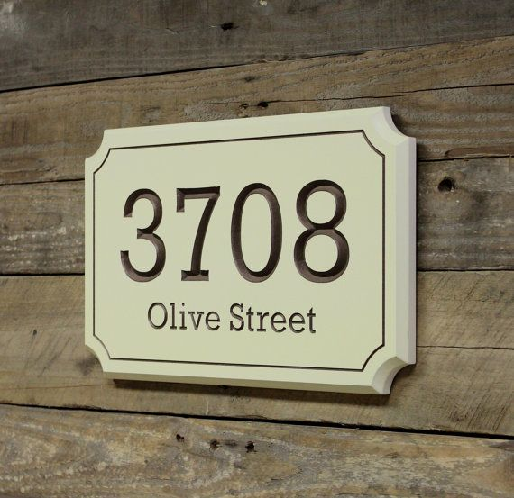 Best 25 House Address Numbers Ideas On Pinterest Home