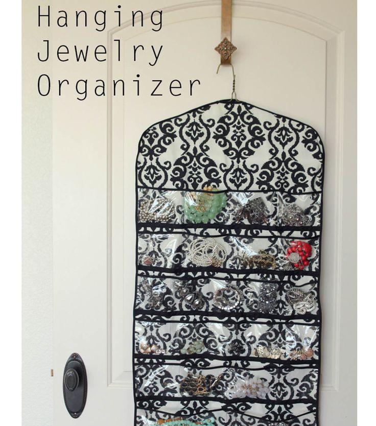 Diy Modern Hanging Jewelry Organizer: Best 25+ Hanging Jewelry Organizer Ideas On Pinterest