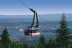 Grouse Mountain Skyride - Image Courtesy of Vancouver's North Shore Tourism