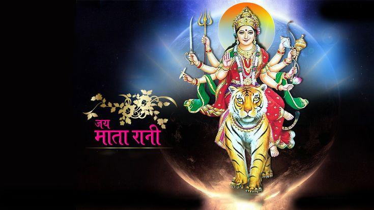 Goddess Maa Durga Hindu Gods And Goddesses Navratri Wallpaper Durga Picture Wallpaper Free Download