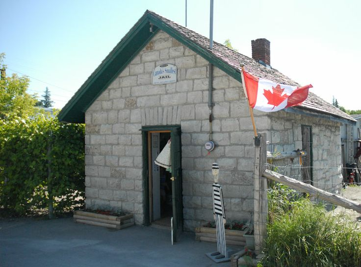Coboconk, in Kawartha Lakes. Canada's smallest jail