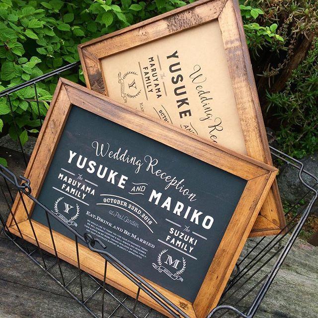フォトブース風デザインを取り入れたウェルカムボード。フォント多めで存在感アリです。 * * こちらのウェルカムボードは苗字や式場名も入ります * * 詳細はshopをご覧ください☺️ http://akiwa.stores.jp プロフTOPにリンクもございます。 * * #ウェルカムボード#ウェルカムスペース#wedding#結婚式#ペーパーアイテム#ウェディングアイテム#awins