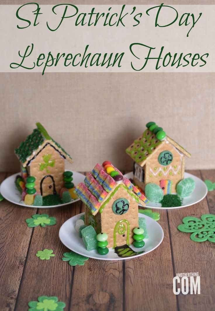 St Patrick's Day Leprechaun Houses | A Mother Thing