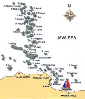 Kepulauan Seribu (Thousand Islands), Jakarta.