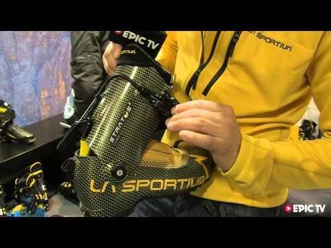 Ski Boot Preview: La Sportiva Stratos Cube - Ispo 2013 - EpicTV.com