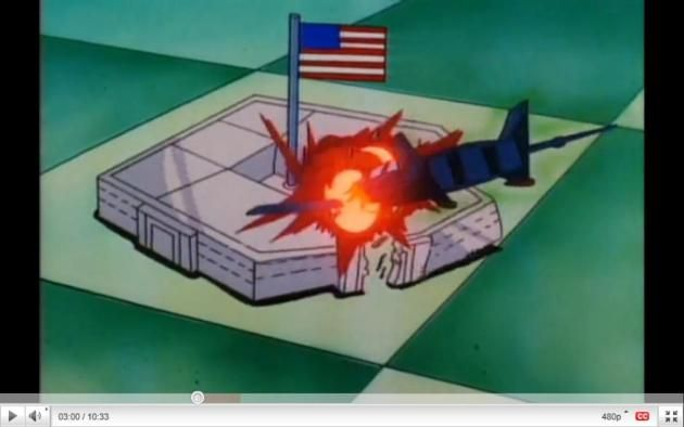 Exclusive: 1994 Iron Man Cartoon Shows 9/11  Plane Hits Pentagon