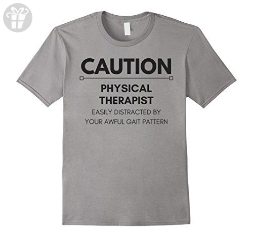 Mens Funny Physical Therapy Shirts for PTs and PTAs  Medium Slate - Funny shirts (*Amazon Partner-Link)