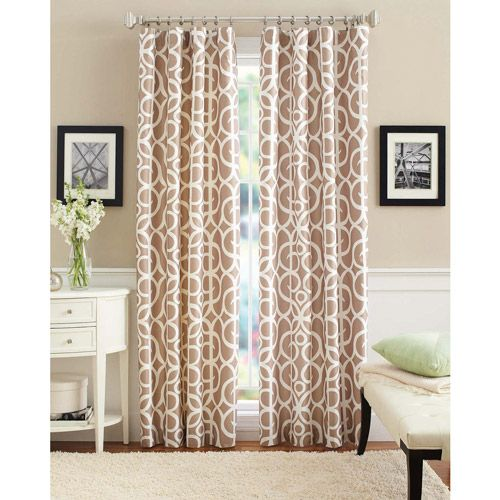 Better homes gardens marissa curtain panel bedroom for Better homes and gardens dining room ideas