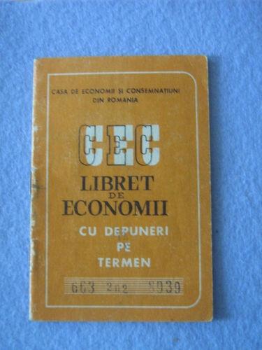 Romania Vintage CEC Bank Money Savings Booklet Type 2 | eBay