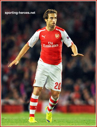 Mathieu Flamini - Arsenal FC - 2014/15 Champions League matches.