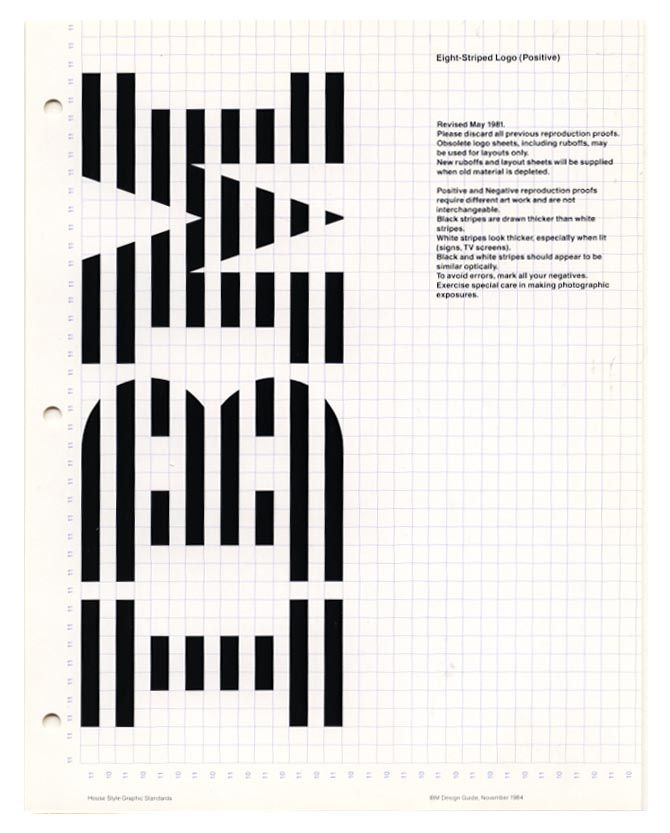 IBM Logo Architecture _ Paul Rand