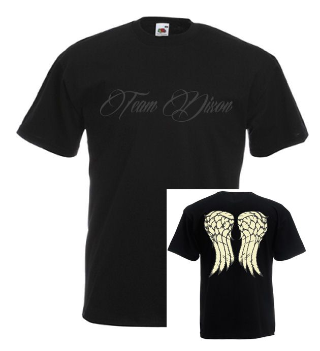 #thewalkingdead #daryldixon #angelwings #menstshirt  £11.99 + FREE UK Delivery (worldwide delivery available)