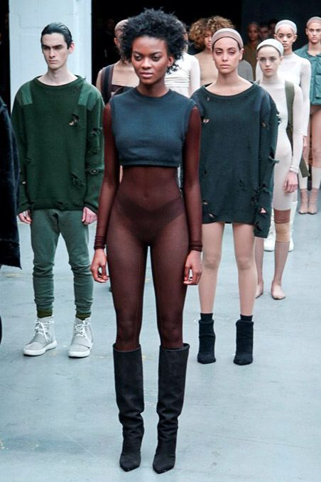 Kanye West x Adidas Originals, Look #2 - Yeezy Season 1 Fall / Winter 2015 / 2016 show during New York Fashion Week