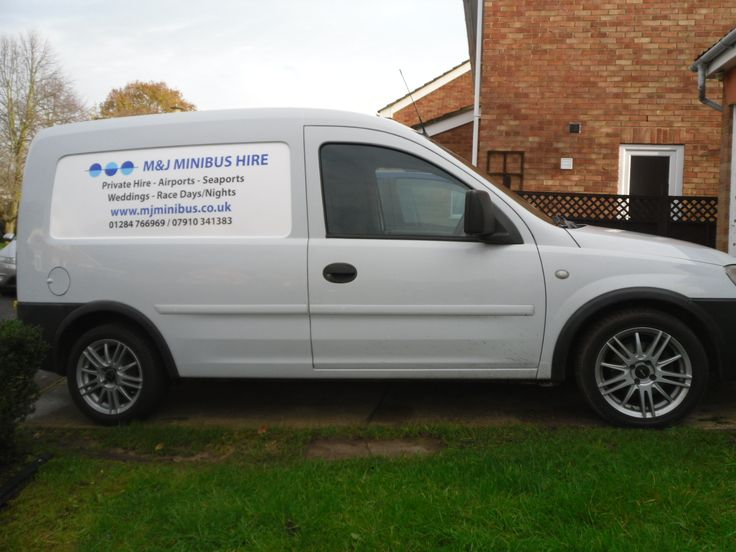 Van c/w with new signwriting.
