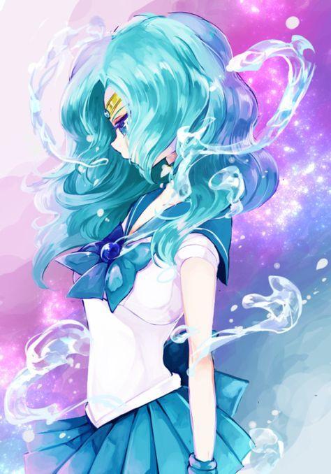Sailor Neptune #SailorMoon #Fanart